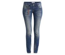 Skinny Jeans 'Indiana' blau