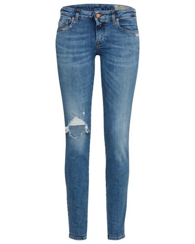 'Gracey' Skinny Jeans 069Ai hellblau