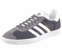 Sneaker 'Gazelle' basaltgrau / weiß