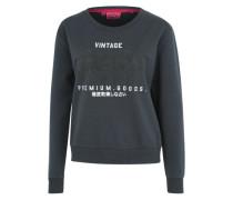 Sweatshirt 'premium Goods DIP DYE Crew' grau