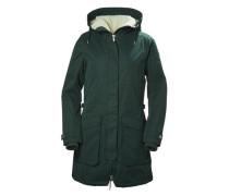 Damen Mantel dunkelgrün