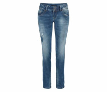 Slim-fit-Jeans 'molly' blue denim