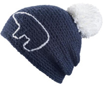 'Jay' Bommelmütze blau
