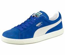 Suede Classic+ Sneaker blau