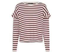 Langarmshirt 'stripe Brushed Frill'