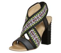 High-Heel-Sandale 'Madison' mischfarben / schwarz