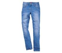 Skinny Suri: Electric Blue-Jeans blau