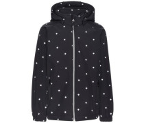 Softshell-Jacke Reflektierende Alfa- schwarz / weiß