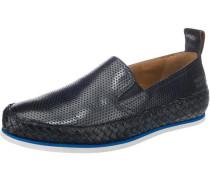 Alfred 1 Sportliche Slipper blau