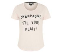 T-Shirt 'Champagne' pink