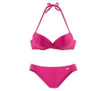 Push-up-Bikini pink