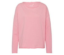 Sweatshirt mit softem Griff rosa