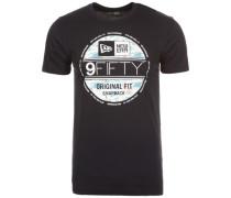 T-Shirt 'Offshore Visor' schwarz