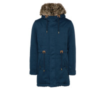 Winterparka 'ikatlining' navy