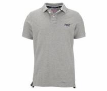 Poloshirt 'classic Pique' graumeliert