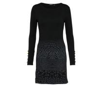 Kleid 'vest Granada' schwarz / offwhite