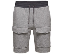 Shorts Sweat- grau