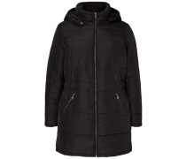 Langärmelige Jacke schwarz