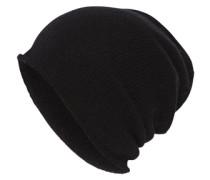 Kaschmir Mütze schwarz