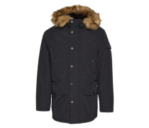 Parka 'Anchorage' schwarz