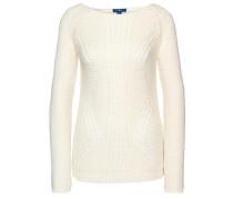 'knit' Strickpullover naturweiß