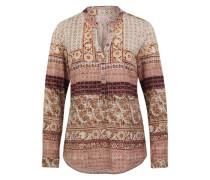 Bluse mit Paisley-Muster mischfarben