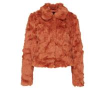 Fake Fur Jacke 'Viperlo' rot