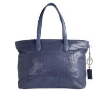 Shopper 'Andrina' dunkelblau