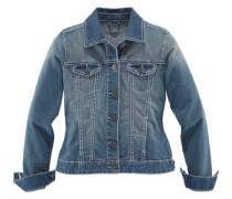 Jeansjacke »Kontrastnähte« blau