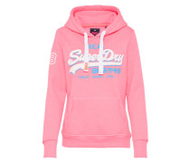 Sweatshirt 'vintage Logo' pink