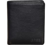 Pocket 103 Kartenetui Leder 10 cm schwarz