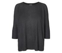 Pullover mit 3/4 Ärmeln graphit