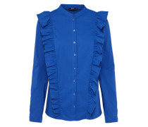 Bluse 'onlVIDA Frill' blau