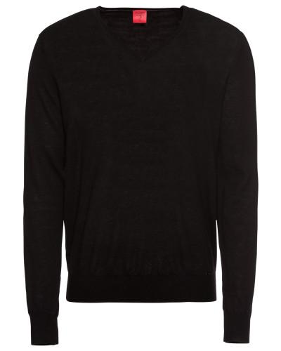 Pullover 'Strick Lvl5' schwarz