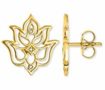 Paar Ohrstecker 'd_H0007-924-39' gold