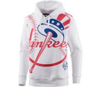 'New York Yankees' Hoodie Herren rot / weiß