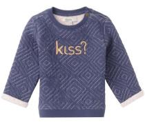 Sweater Houghton indigo / pastellpink