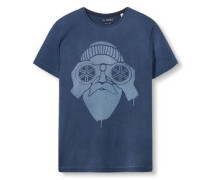 Shirt 'cn sl aw ss' dunkelblau