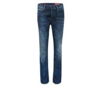Jeans im Used-Look 'Dylan' blau