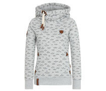 Hoody 'Stronger than ever' navy / grau