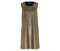 Minikleid mit Metallic-Effekt 'Soraya 60309' gold
