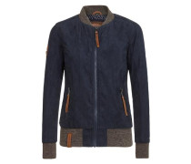 Female Jacket Dirty Mother blau