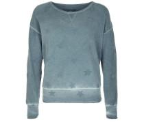 Sweatshirt 'crew Sweat Stars' rauchblau