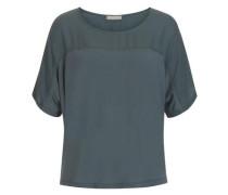 Casual Shirt weit geschnitten rauchblau