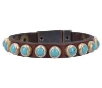 Armband 'Bracciali' 20 cm braun