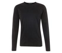Langarmshirt im Used-Look 'Yoshi' dunkelgrau