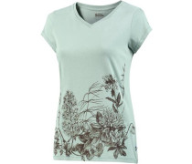 Meadow T-Shirt Damen mint