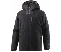 Dutch Hollow Hybrid Daunenjacke Herren schwarz