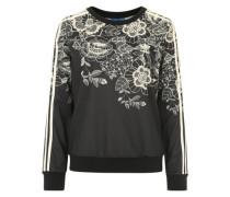 Sweatshirt 'Florido Crew Sweater' schwarz / weiß
