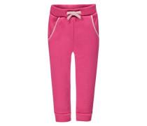Jogginghose mit Teddyfell pink